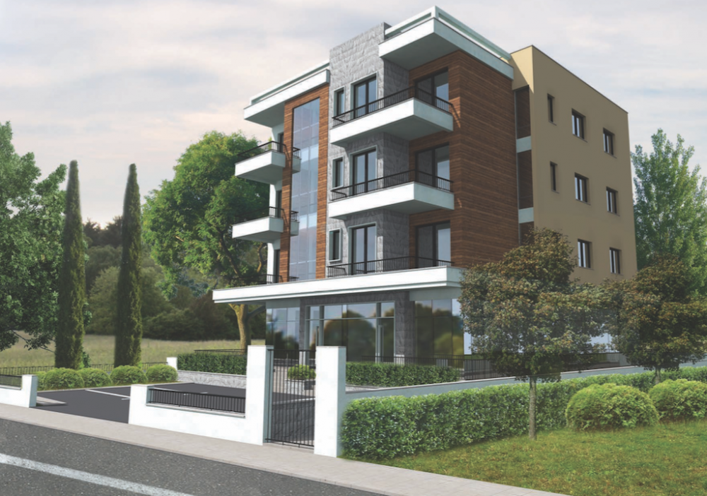 Apartments in a New Building in Tivat