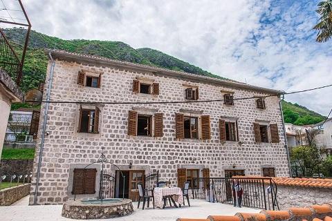 Villa in Stoliv Kotor bay Montenegro