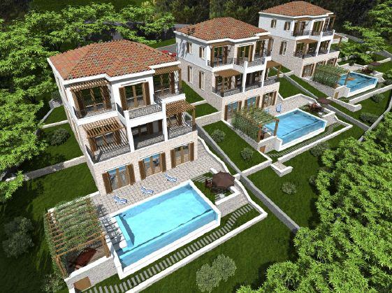 Villas in Blizikuce