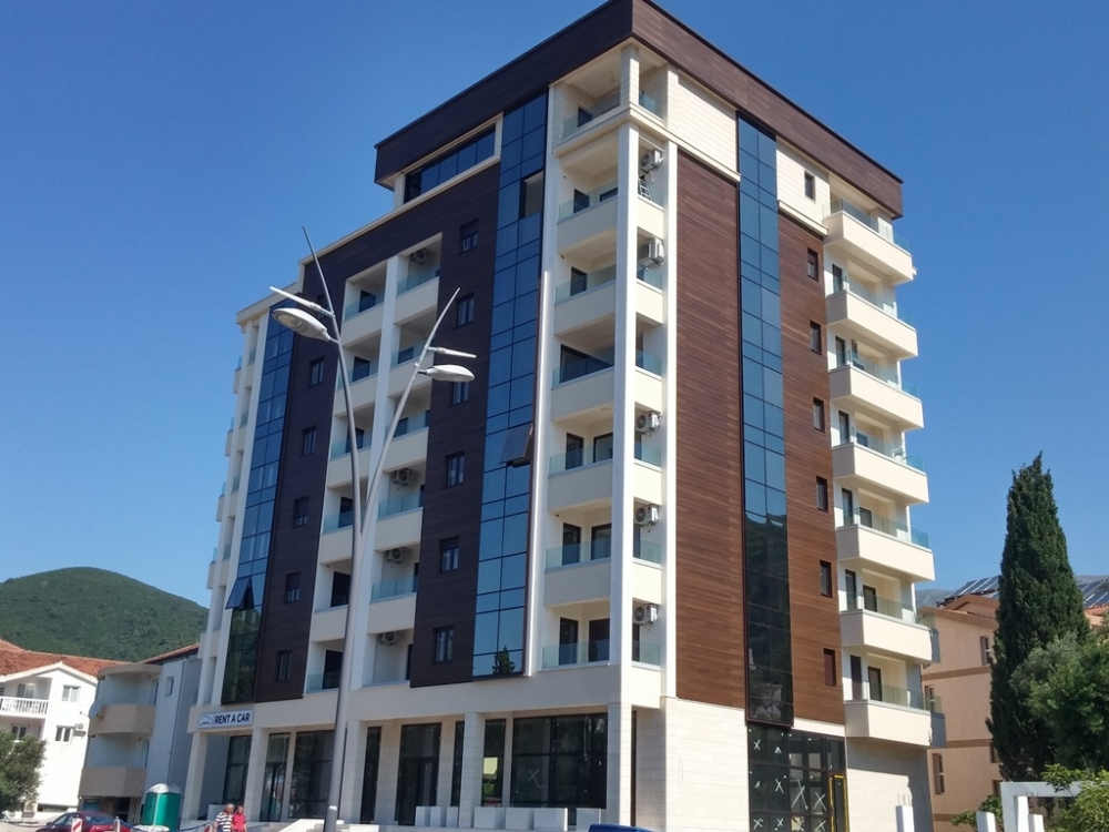 New residential complex in Budva