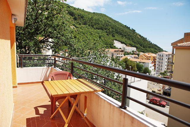 Sunny apartment in Budva