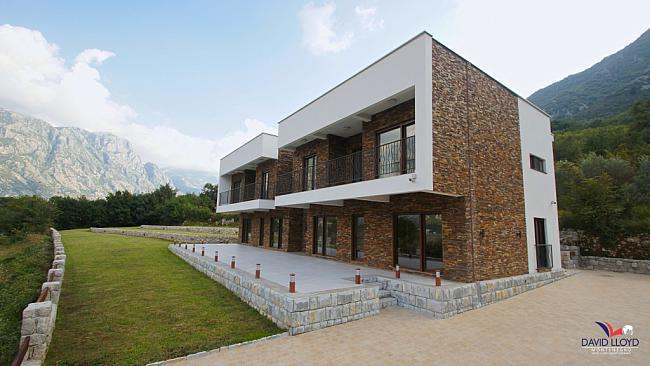 New villa in the Bay of Kotor