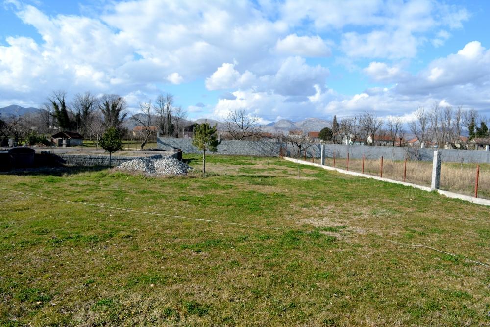 A plot near Podgorica