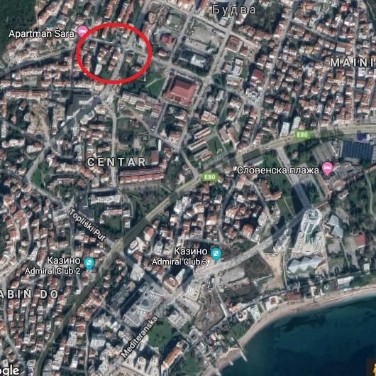 Urbanized plot in Budva