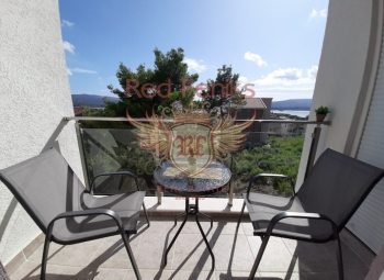 Sea view apartment for sale in Tivat, Montenegro.