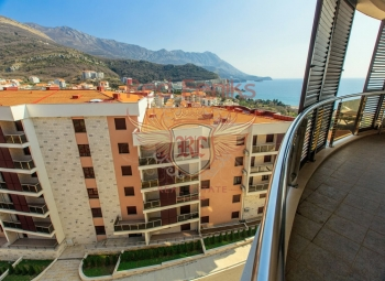 Schöne Anlage mit 1 und 2 Schlafzimmern Wohnung in neuem Komplex in Becici.