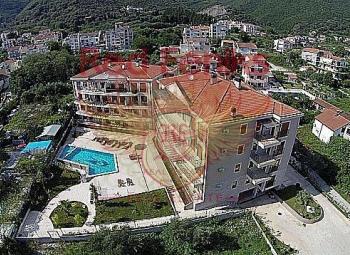 Apartment in new condo for sale in Herceg Novi, Montenegro.