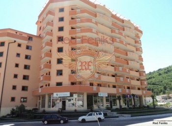 Apartment for sale in a new residential building in the center of Budva.