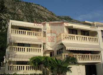 Magnificent mini-hotel on the shore of the Boka Bay of Kotor, with a panoramic view, the level of 4 stars.