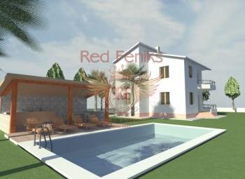 Prodaje se nova kuća na parceli od 541 m2 u predjelu mjesta Polje u Baru (2,0 km od centra grada).