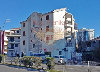 Building is located on the Adriatic coast, in the center of the Budva town.