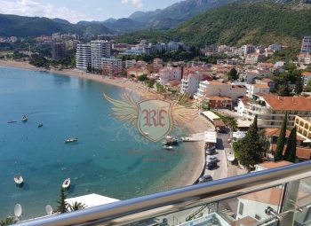 For sale one bedroom apartment in Rafailovici, in aparthotel with swimming pool.