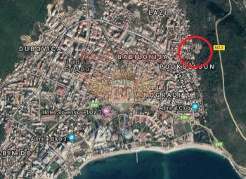 Plot for sale in Budva, Montenegro  on good location.