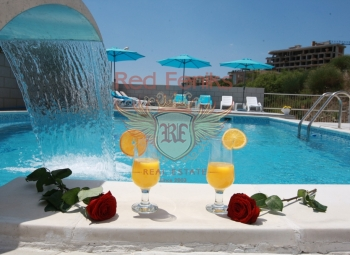 Hotel with swimming pool in Becici, MONTENEGRO Urgent sale! Chic, new hotel in Becici with swimming pool.