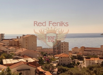 For sale two bedroom apartmant in Becici with a sea view.