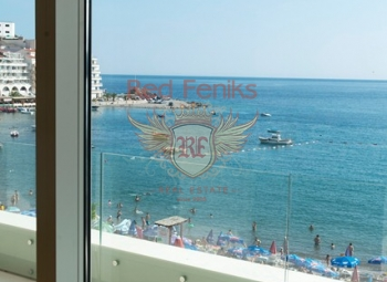 For sale new luxury residential building in Rafailovici on the first line.