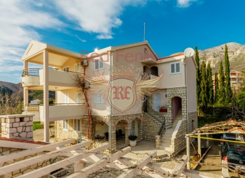 Top floor for rent in Becici, Ivanovichi.