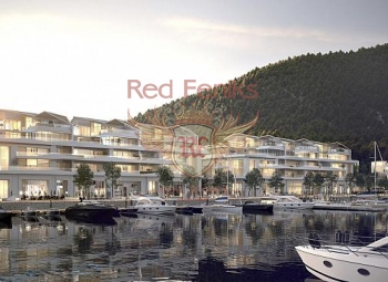 Waterfront apartments for sale inHerceg Novi, Montenegro! This new luxury condo is a world class resort with an ultramodern marina.