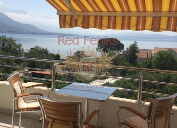 For sale furnished apartment 30 meters from the sea in the town of Biela, next to Herceg Novi.