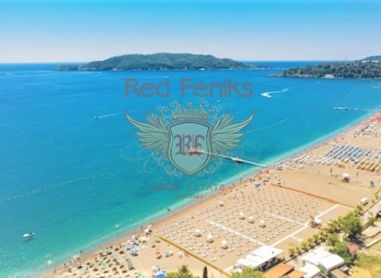 For sale studio apartment in the Hotel Residence 5 stars in Becici.