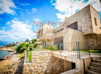 Modern villa is for sale on the first line in the village of Krasici.