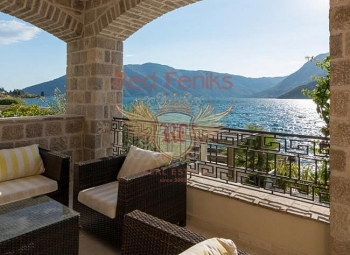 In one of the most beautiful places in the Bay of Kotor (city Risan), we offering for sale luxury villa, with own coastline.