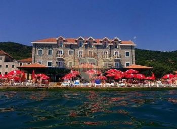 The hotel is on the shores of the Kotor Bay, in a beautiful, green place.