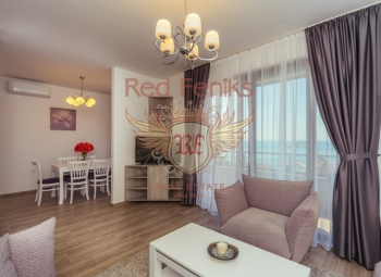 For sale new apartment in Petrovac, Budva Riviera, Montenegro.