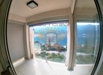 For sale a new apartment just 100 meters from the sea in the Bay of Kotor, Dobrota.