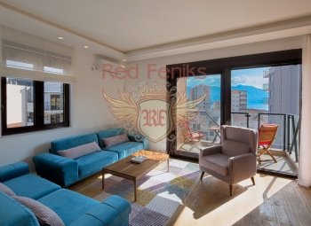For sale a stylish apartment of 54m2 is located 150 meters from the sea.