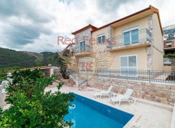 New villa for sale is located in a prestige Becici region.