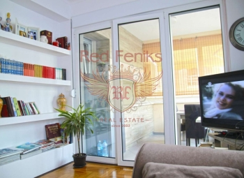 Two-bedroom apartment on the first floor in Budva, Montenegro.