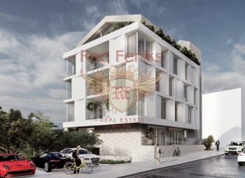 For sale new beautiful complex in Budva.