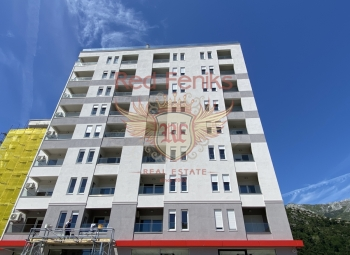 For sale new resedence in the center of Budva.