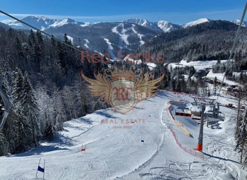 We offer an urbanized plot of 1,500 m2, located on the road to the ski resort in Kolasin.