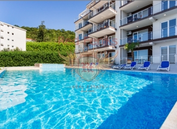 A small residential complex for sale near Budva in the small town of Seoce.