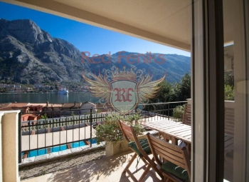 For sale cozy apartment in Muo, Kotor Bay, Montenegro.
