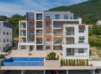 Luxury Residences is a multi family living space with 16 apartments in Tivat, Montenegro.