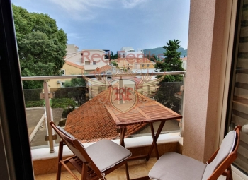 For sale one bedroom apartment in Budva, Montenegro The apartment is 47 m2.