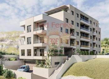 Na prodaju nova rezidencija sa apartmanima u Budvi.