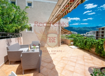For sale very beautiful apartment two bedroom in Becici.