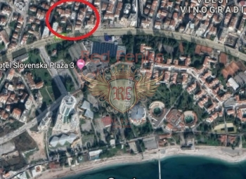 Urbanized plot for sale and Budva, Montenegro.