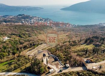 For sale urbanized plot in the town of Trebeshin, near Herceg Novi.