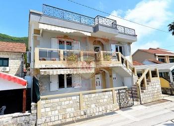 A villa on the coastline of Kumbor holiday village for sale.