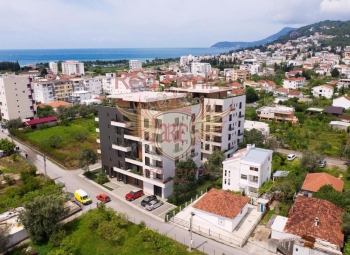 Apartments for sale in a new building under construction in the city of Bar, Ilino district.