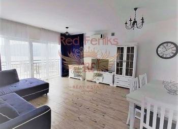 New apartment for sale with a separate bedroom in Baosici.