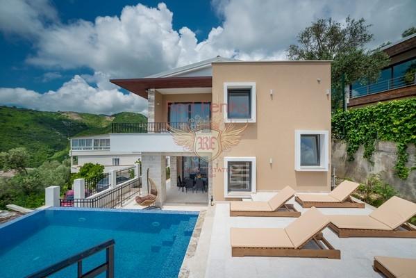 New Villa in Becici