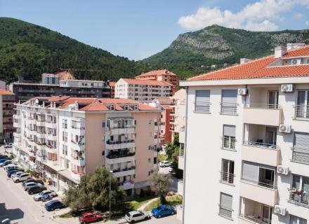 Budva 604 tek yatak odalı daire, Becici da ev fiyatları, Becici satılık ev fiyatları, Becici da ev almak
