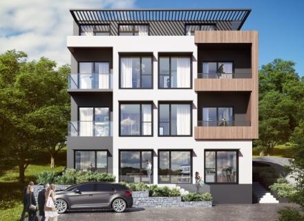 Studios in a hillside complex in Tivat, becici satılık daire, Karadağ da ev fiyatları, Karadağ da ev almak