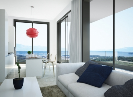 Studios in a hillside complex in Tivat, Karadağ da satılık ev, Montenegro da satılık ev, Karadağ da satılık emlak
